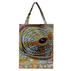 Macro Of The Eye Of A Chameleon Classic Tote Bag