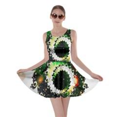Fractal Universe Computer Graphic Skater Dress