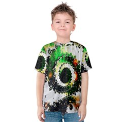 Fractal Universe Computer Graphic Kids  Cotton Tee