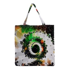 Fractal Universe Computer Graphic Grocery Tote Bag
