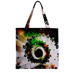 Fractal Universe Computer Graphic Zipper Grocery Tote Bag