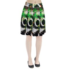 Fractal Universe Computer Graphic Pleated Skirt