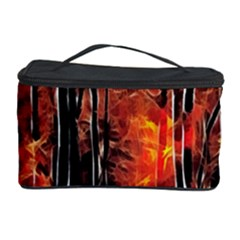 Forest Fire Fractal Background Cosmetic Storage Case