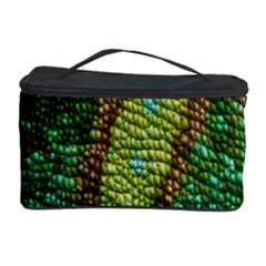 Colorful Chameleon Skin Texture Cosmetic Storage Case