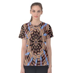 Manipulated Reality Of A Building Picture Women s Cotton Tee