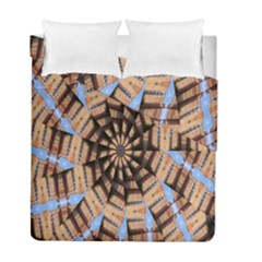 Manipulated Reality Of A Building Picture Duvet Cover Double Side (full/ Double Size)