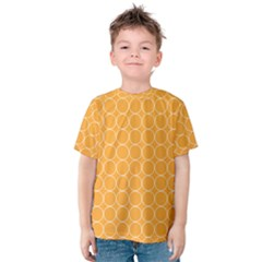 Yellow Circles Kids  Cotton Tee
