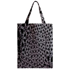 X Ray Rendering Hinges Structure Kinematics Circle Star Black Grey Zipper Classic Tote Bag
