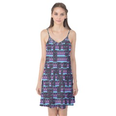 Techno Fractal Wallpaper Camis Nightgown