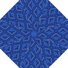 Blue Fractal Background Folding Umbrellas