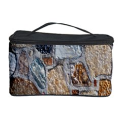Multi Color Stones Wall Texture Cosmetic Storage Case