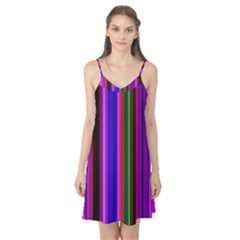 Fun Striped Background Design Pattern Camis Nightgown