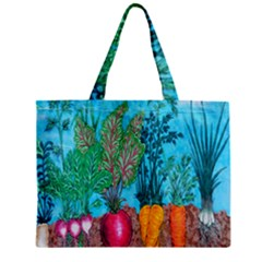 Mural Displaying Array Of Garden Vegetables Mini Tote Bag
