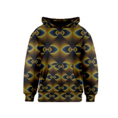 Fractal Multicolored Background Kids  Pullover Hoodie