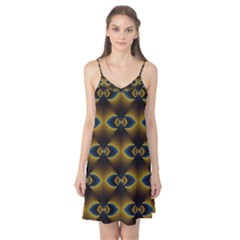 Fractal Multicolored Background Camis Nightgown