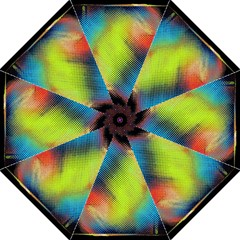 Punctulated Colorful Ground Noise Nervous Sorcery Sight Screen Pattern Straight Umbrellas