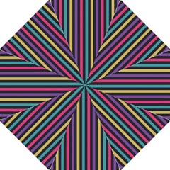 Stripes Colorful Multi Colored Bright Stripes Wallpaper Background Pattern Hook Handle Umbrellas (Medium)