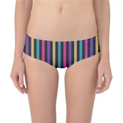 Stripes Colorful Multi Colored Bright Stripes Wallpaper Background Pattern Classic Bikini Bottoms