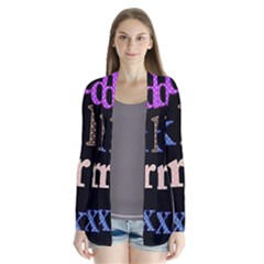 Alphabet Letters Colorful Polka Dots Letters In Lower Case Cardigans