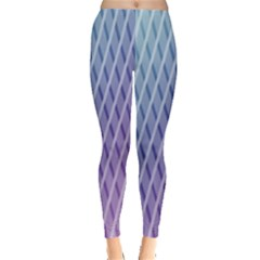 Abstract Lines Background Leggings