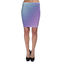 Abstract Lines Background Bodycon Skirt