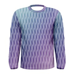 Abstract Lines Background Men s Long Sleeve Tee