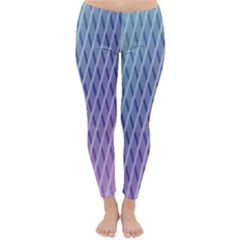 Abstract Lines Background Classic Winter Leggings