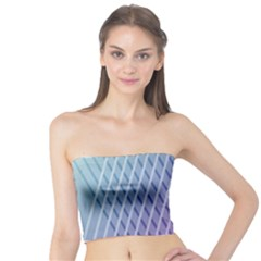 Abstract Lines Background Tube Top
