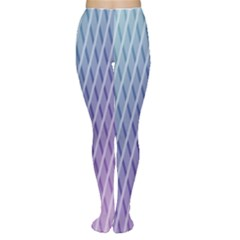 Abstract Lines Background Women s Tights