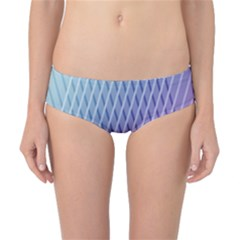 Abstract Lines Background Classic Bikini Bottoms