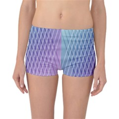 Abstract Lines Background Reversible Bikini Bottoms
