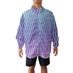 Abstract Lines Background Wind Breaker (kids)
