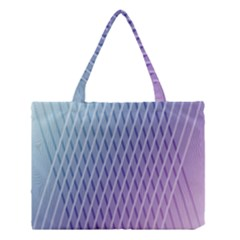 Abstract Lines Background Medium Tote Bag