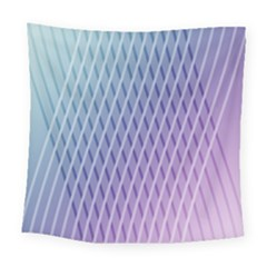 Abstract Lines Background Square Tapestry (large)