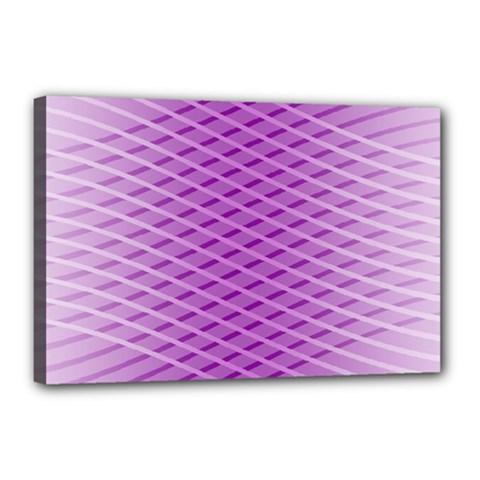 Abstract Lines Background Pattern Canvas 18  X 12