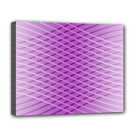 Abstract Lines Background Pattern Deluxe Canvas 20  x 16