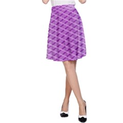 Abstract Lines Background Pattern A Line Skirt