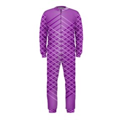 Abstract Lines Background Pattern OnePiece Jumpsuit (Kids)