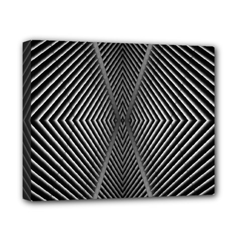 Abstract Of Shutter Lines Canvas 10  X 8