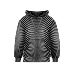 Abstract Of Shutter Lines Kids  Pullover Hoodie