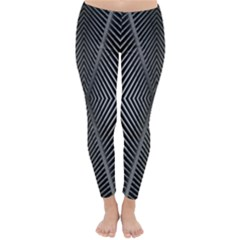 Abstract Of Shutter Lines Classic Winter Leggings