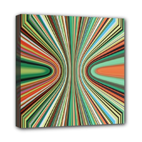Colorful Spheric Background Mini Canvas 8  X 8