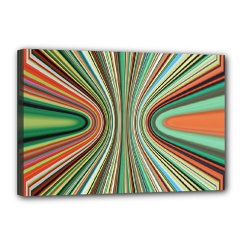 Colorful Spheric Background Canvas 18  X 12