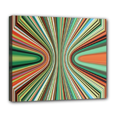 Colorful Spheric Background Deluxe Canvas 24  x 20