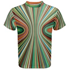 Colorful Spheric Background Men s Cotton Tee