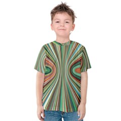 Colorful Spheric Background Kids  Cotton Tee