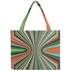 Colorful Spheric Background Mini Tote Bag