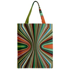 Colorful Spheric Background Zipper Classic Tote Bag
