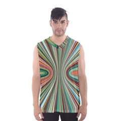 Colorful Spheric Background Men s Basketball Tank Top