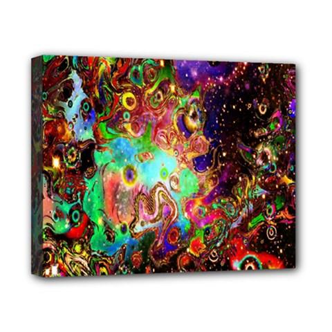 Alien World Digital Computer Graphic Canvas 10  x 8